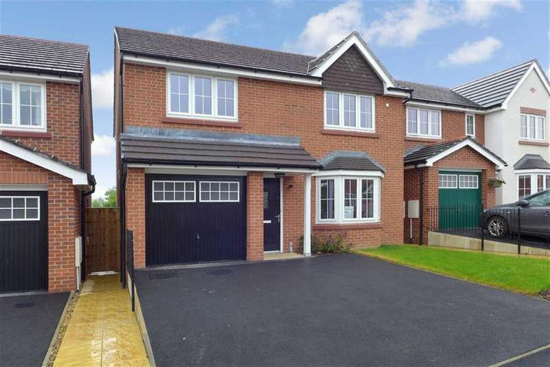 4 Bedrooms Detached House for sale in Edward Phipps Way, Haslington, Crewe