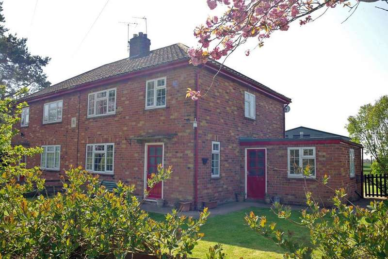 3 Bedrooms Semi Detached House for sale in 2, Wath Lane Cottages, Burton Grange, Helperby, North Yorkshire YO61 2RY