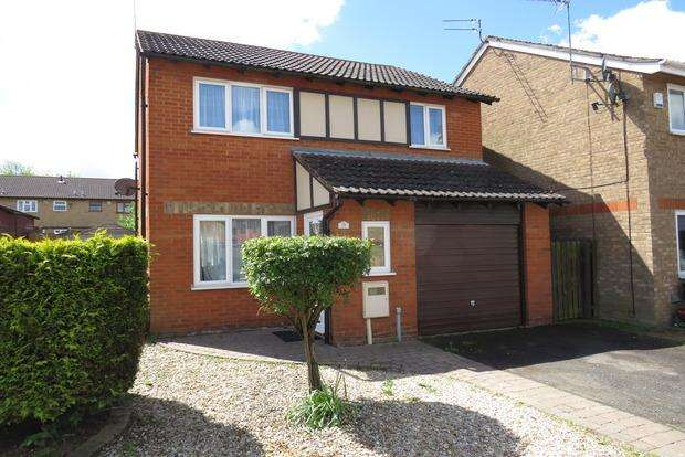 3 Bedrooms Detached House for sale in Bollinger Close, Duston, NN5