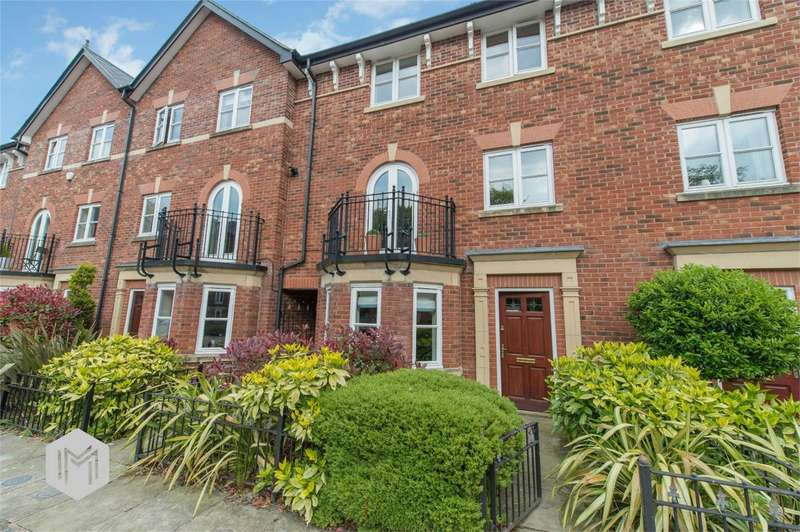 4 Bedrooms Town House for sale in Greenmount Close, Heaton, Bolton, Lancashire
