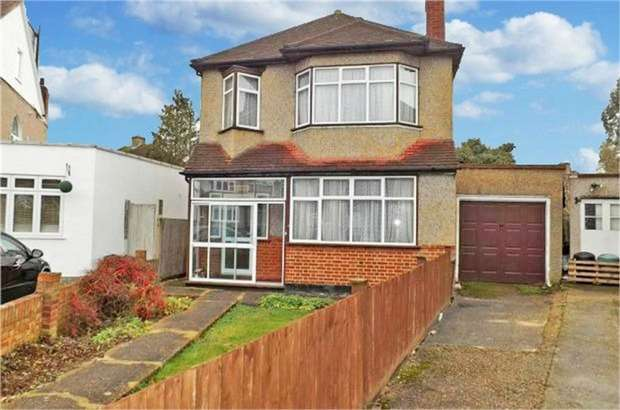 3 Bedrooms Detached House for sale in Wydell Close, Morden, Surrey