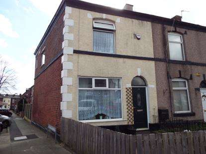 3 Bedrooms End Of Terrace House for sale in Chesham Road, Chesham, Bury, Greater Manchester, BL9