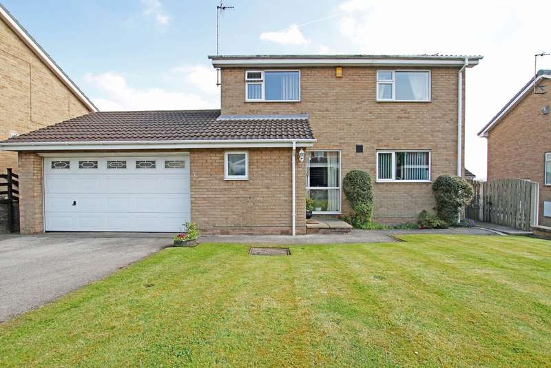 4 Bedrooms Detached House for sale in Haworth Crescent, Moorgate