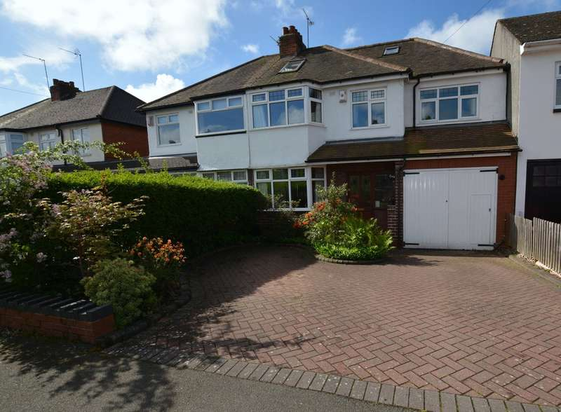 4 Bedrooms Semi Detached House for sale in Weymoor Road, Harborne
