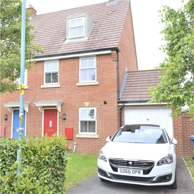 3 Bedrooms End Of Terrace House for sale in Bulford Close, Hucclecote, GLOUCESTER, GL3 3AG
