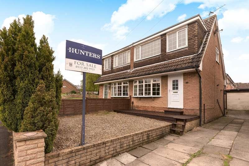 3 Bedrooms Semi Detached House for sale in Woodlea Approach, Yeadon, Leeds, LS19 7PN