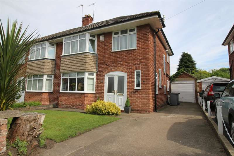 3 Bedrooms Semi Detached House for sale in Brooklet Road, Heswall, Wirral, CH60 1UL