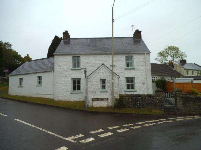 3 Bedrooms Cottage House for sale in Heol yr Ysgol, Coity, Bridgend CF35