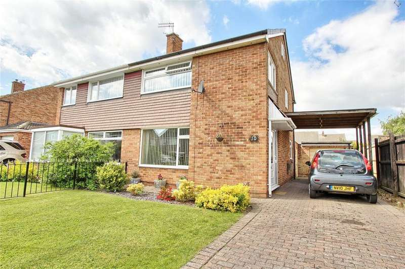 3 Bedrooms Semi Detached House for sale in Norton Drive, Bishopsgarth