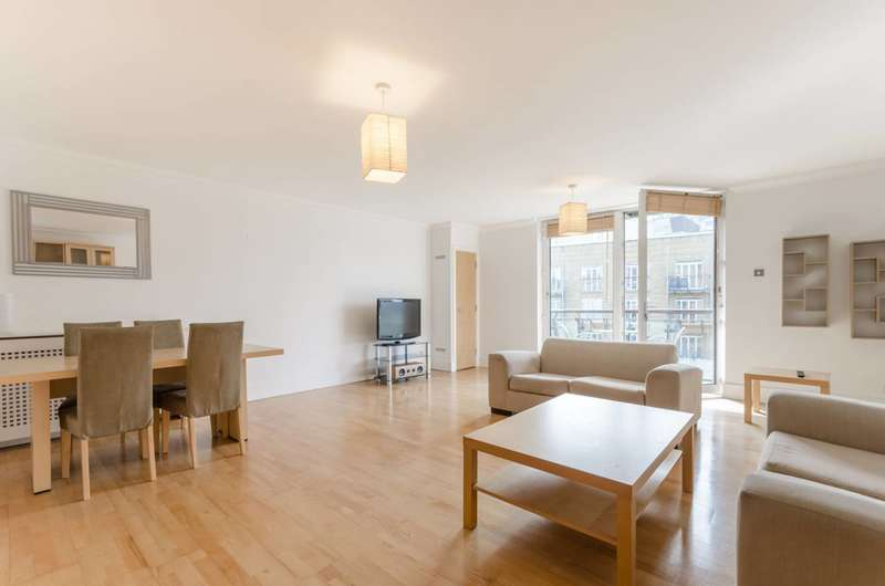 2 Bedrooms Flat for sale in Dunbar Wharf, Limehouse, E14