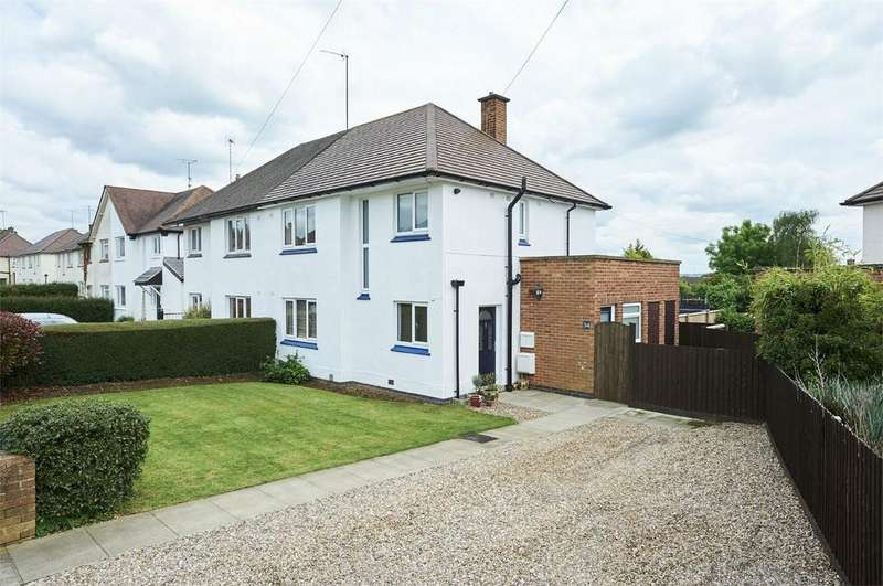 3 Bedrooms Semi Detached House for sale in Meadow Street, MARKET HARBOROUGH, Leicestershire