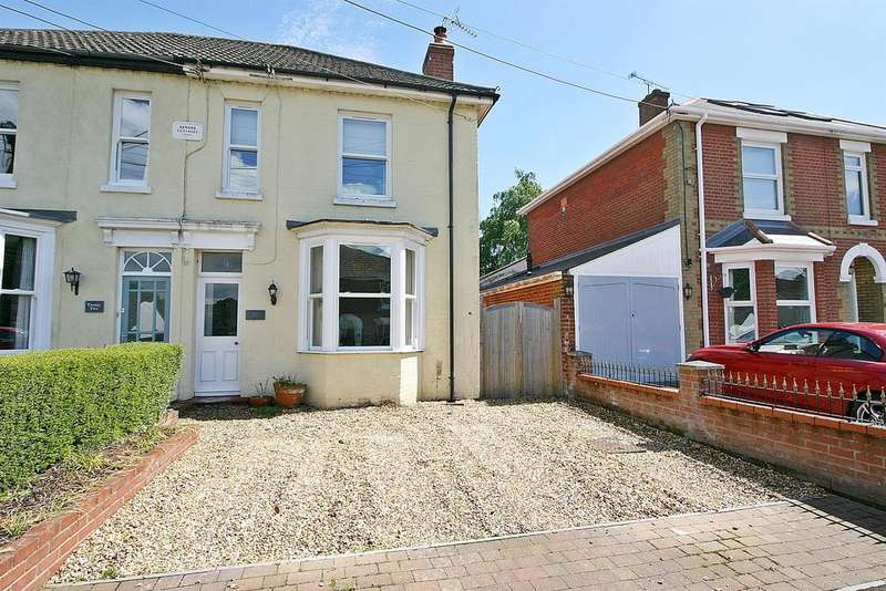 4 Bedrooms Semi Detached House for sale in Hound Road, Netley Abbey, Southampton, SO31 5FX