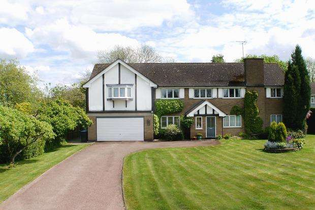 5 Bedrooms Detached House for sale in The Woodlands, Market Harborough, LE16