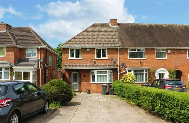 3 Bedrooms End Of Terrace House for sale in Frankley Beeches Road, Birmingham, West Midlands