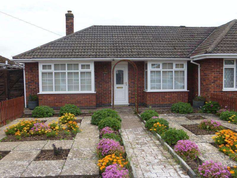 2 Bedrooms Semi Detached Bungalow for sale in Kingsthorpe Crescent, Skegness