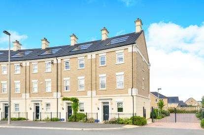 4 Bedrooms End Of Terrace House for sale in Rowditch Furlong, Redhouse Park, Milton Keynes, Bucks