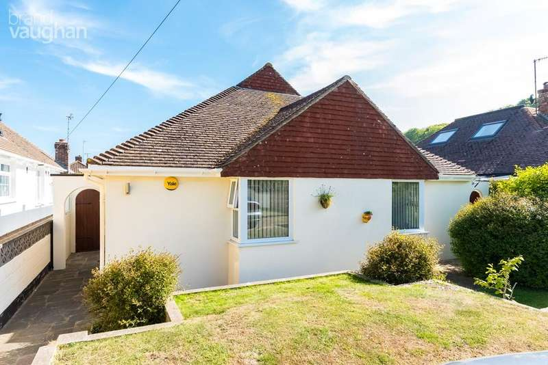 4 Bedrooms Detached Bungalow for sale in Court Ord Road, Rottingdean, Brighton, BN2