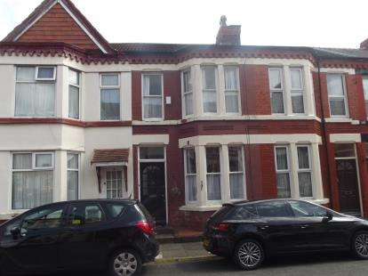 2 Bedrooms Terraced House for sale in Windbourne Road, Liverpool, Merseyside, L17