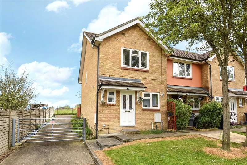 2 Bedrooms End Of Terrace House for sale in Bayshill Rise, Northolt, Middlesex, UB5