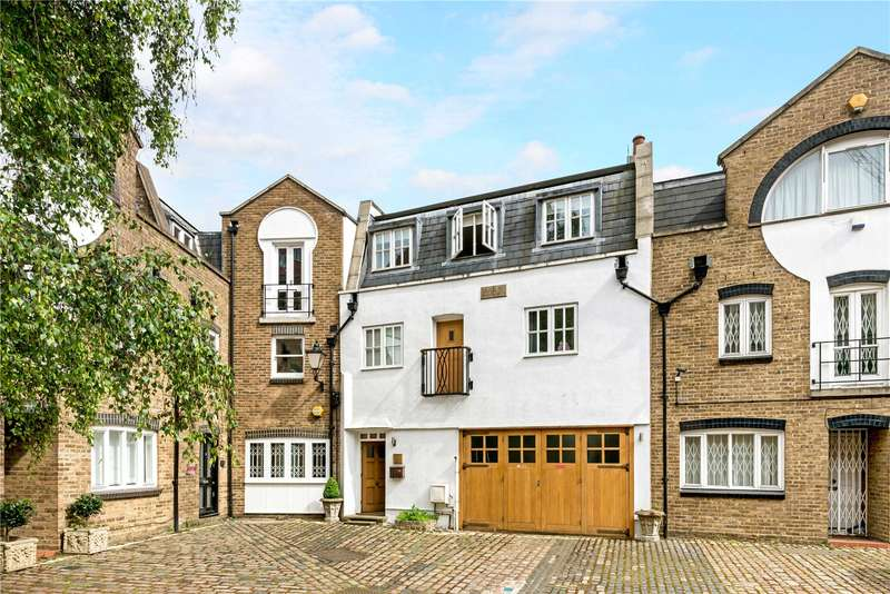 3 Bedrooms Mews House for sale in Celbridge Mews, Bayswater, London, W2