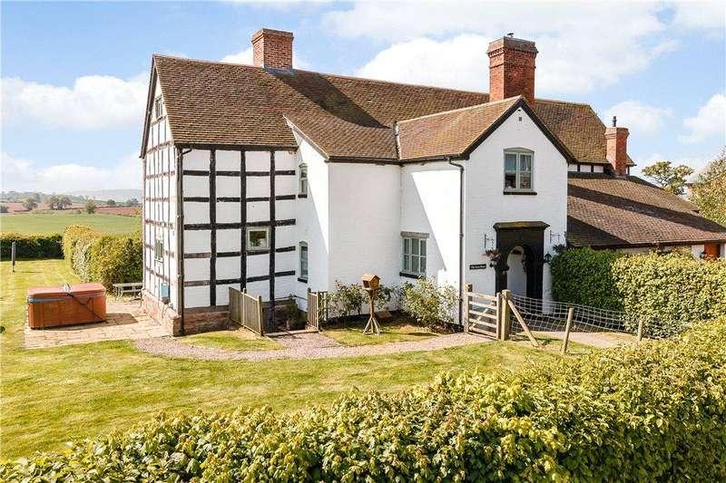 4 Bedrooms Unique Property for sale in Hillend Farm, Much Cowarne, Bromyard, HR7