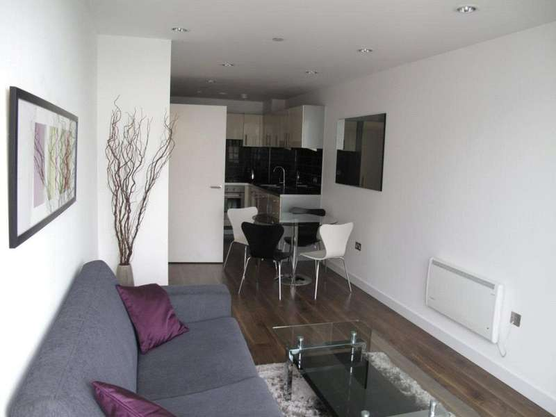 1 Bedroom Flat for sale in NumberOne, Media City UK, Salford Quays, Greater Manchester, M50