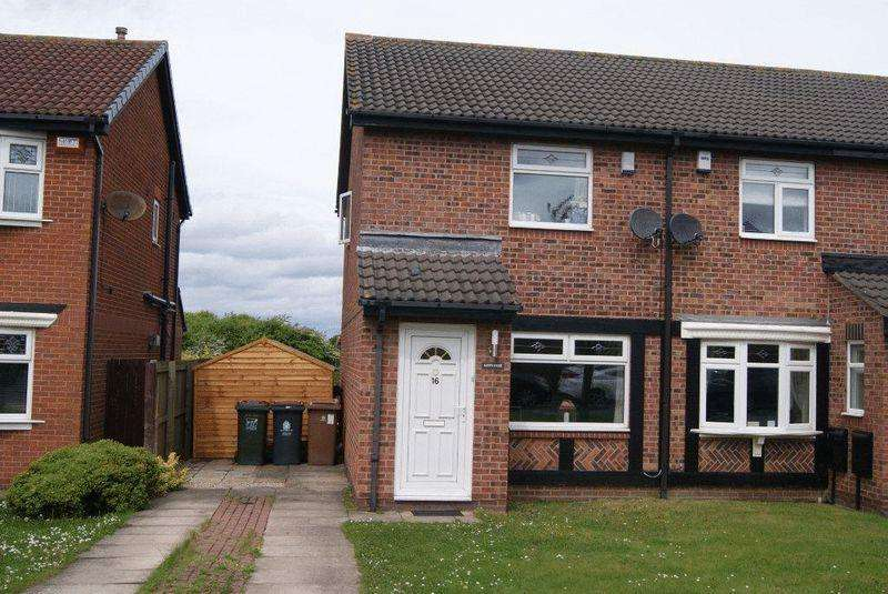 2 Bedrooms Semi Detached House for sale in Edgemount, Killingworth, Newcastle Upon Tyne