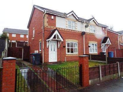 2 Bedrooms Semi Detached House for sale in Brindleheath Road, Salford, Greater Manchester
