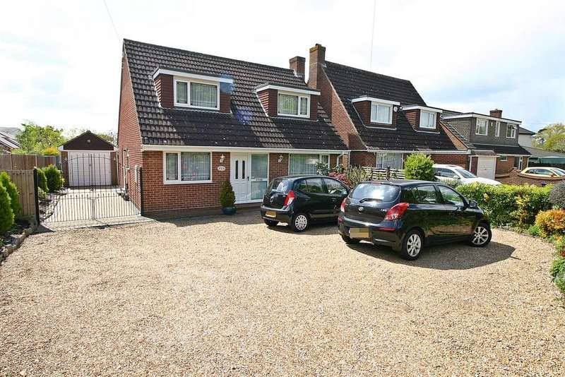 3 Bedrooms Detached House for sale in Peters Road, Locks Heath, Southampton, SO31 6EQ