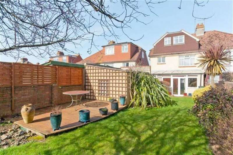 5 Bedrooms Semi Detached House for sale in Hangleton Road, Hove, East Sussex
