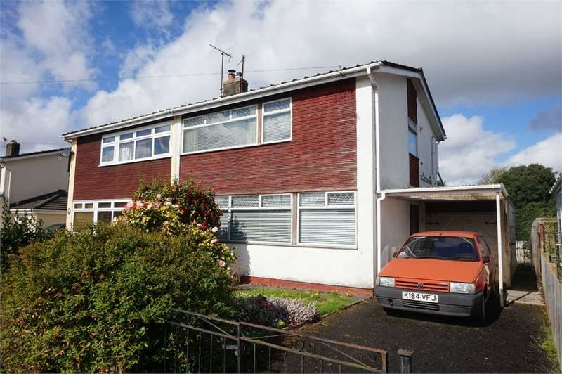 3 Bedrooms Semi Detached House for sale in Belmont Close, ABERGAVENNY, NP7