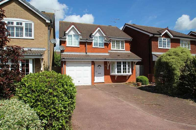 4 Bedrooms Detached House for sale in Fletchers Lane, Grange Farm, Kesgrave, Ipswich