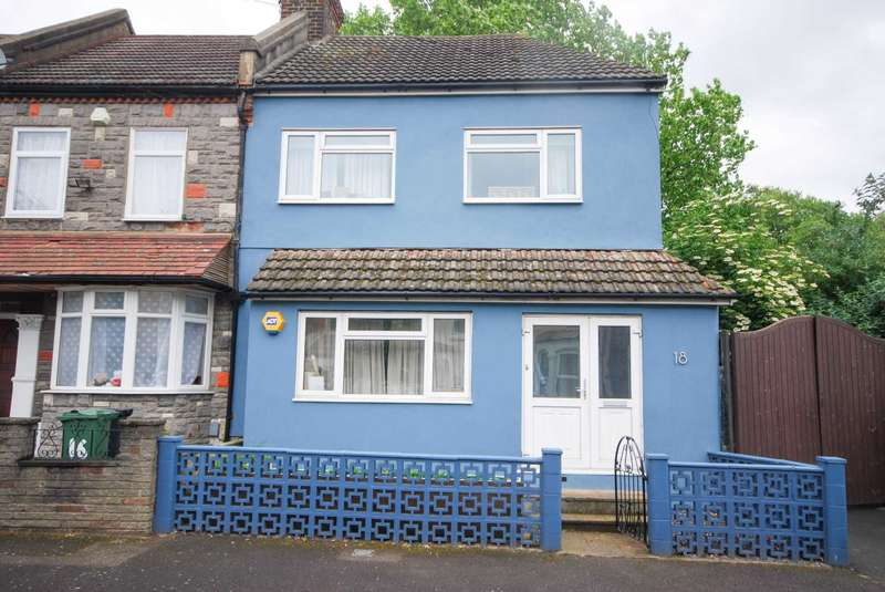 2 Bedrooms End Of Terrace House for sale in Gordon Road, Leyton