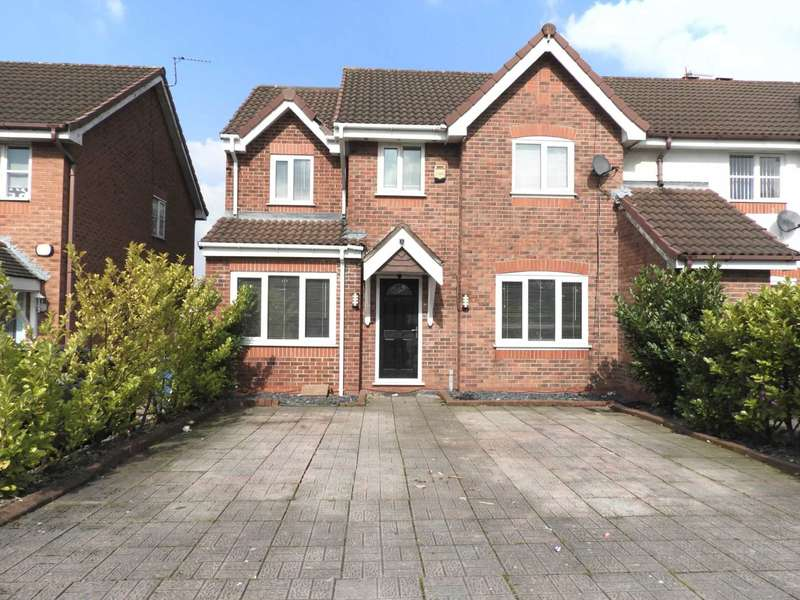 4 Bedrooms End Of Terrace House for sale in Longdown Road, Fazakerley