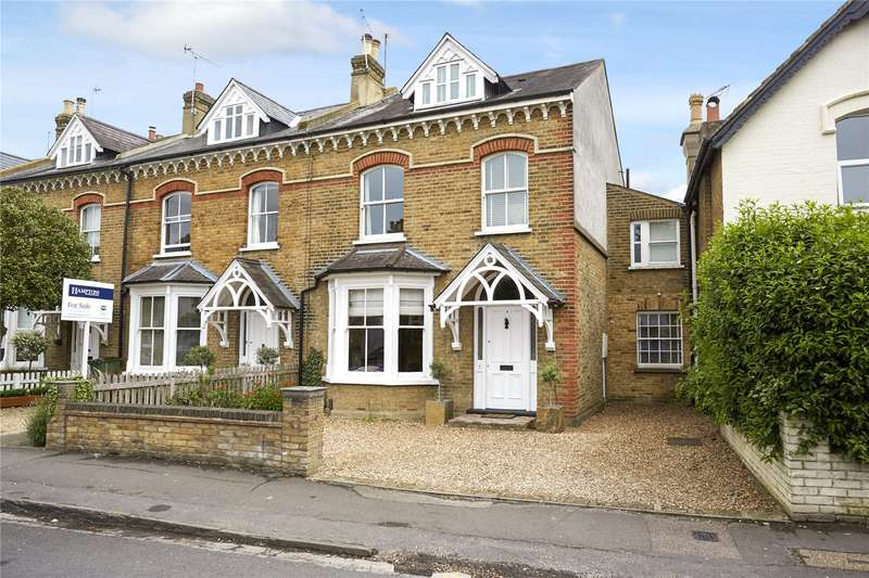 5 Bedrooms Semi Detached House for sale in Manor Road, East Molesey, Surrey, KT8