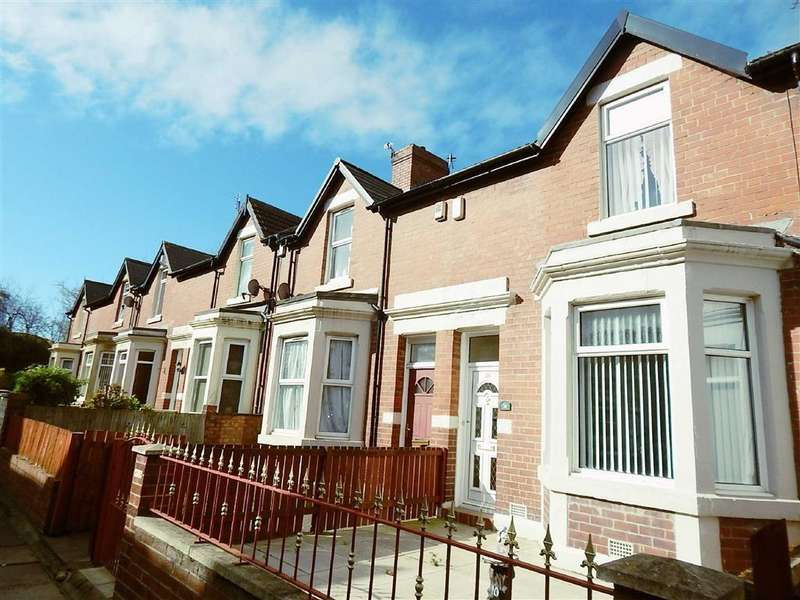 2 Bedrooms Terraced House for sale in Byron Avenue, Willington Quay, Wallsend, NE28