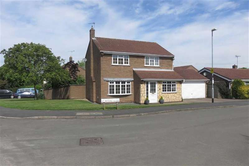 4 Bedrooms Detached House for sale in St Peter's Close, Glenfield