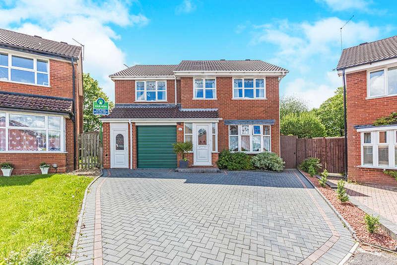 5 Bedrooms Semi Detached House for sale in Thurloe Crescent, Rubery,Rednal, Birmingham, B45