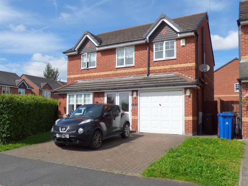 4 Bedrooms Detached House for sale in Springside Close, Huyton, Liverpool
