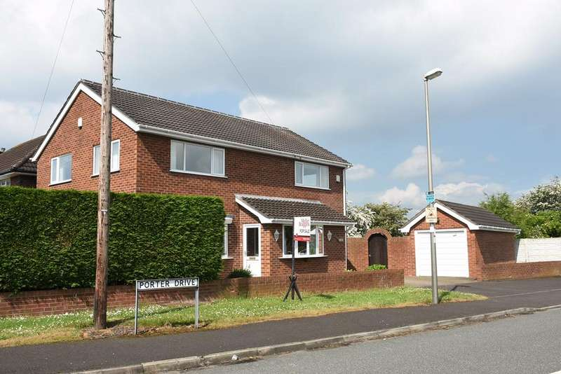4 Bedrooms Detached House for sale in Shipbrook Road, Rudheath