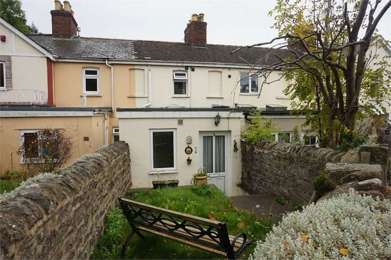 2 Bedrooms Terraced House for sale in Old Junction Cottages, Grosvenor Road, Abergavenny, NP7