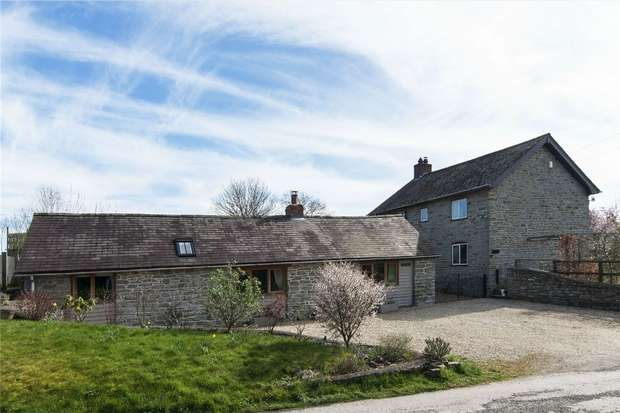 3 Bedrooms Detached House for sale in The Old Blacksmiths, 45 Lydbury North, Shropshire