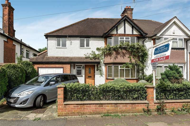 5 Bedrooms Semi Detached House for sale in Rofant Road, Northwood, Middlesex, HA6