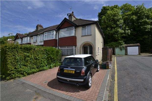 3 Bedrooms End Of Terrace House for sale in Glenn Avenue, PURLEY, Surrey, CR8 2AG