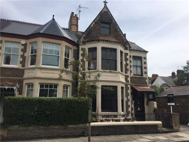 3 Bedrooms End Of Terrace House for sale in Berthwin Street, Pontcanna, CARDIFF