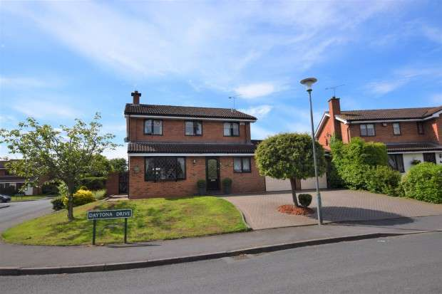 4 Bedrooms Detached House for sale in Daytona Drive, Millisons Wood, Coventry, CV5