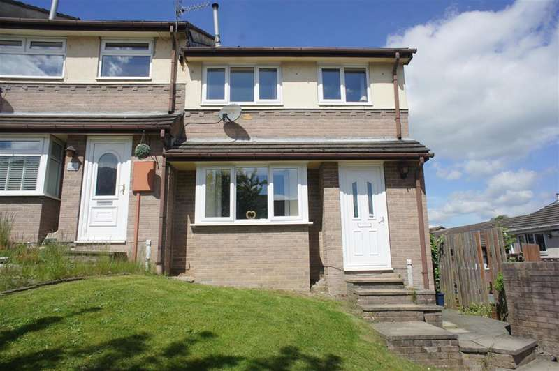 3 Bedrooms End Of Terrace House for sale in Paterson Gardens, Stocksbridge, Sheffield, S36 1JR