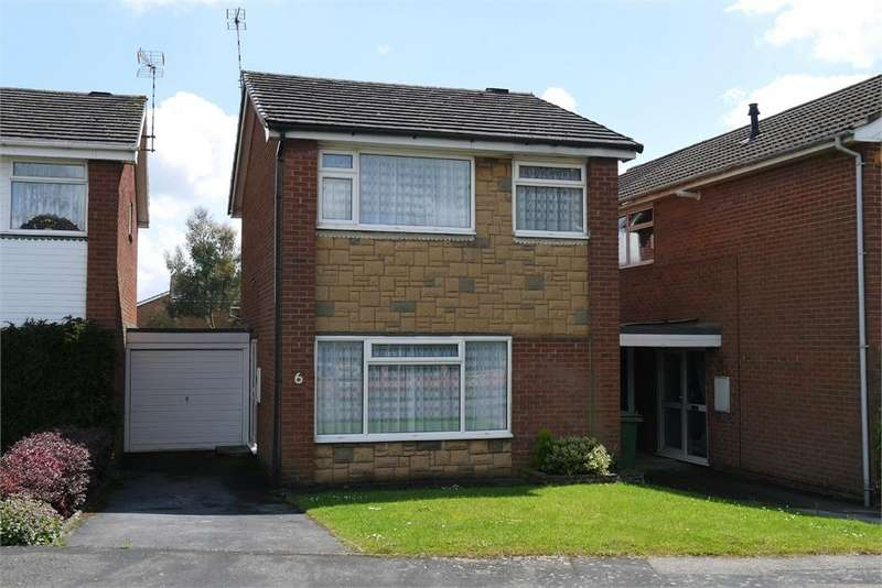 3 Bedrooms Link Detached House for sale in Goscote Drive, Lutterworth, Leicestershire