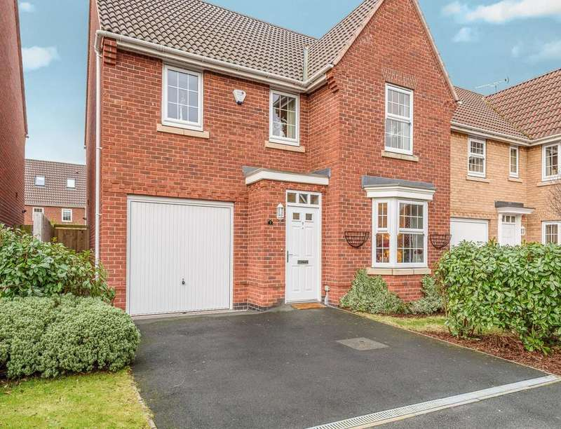 4 Bedrooms Detached House for sale in Magellan Way, Derby, DE24