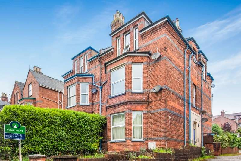 Flat for sale in Blackall Road, Exeter, EX4